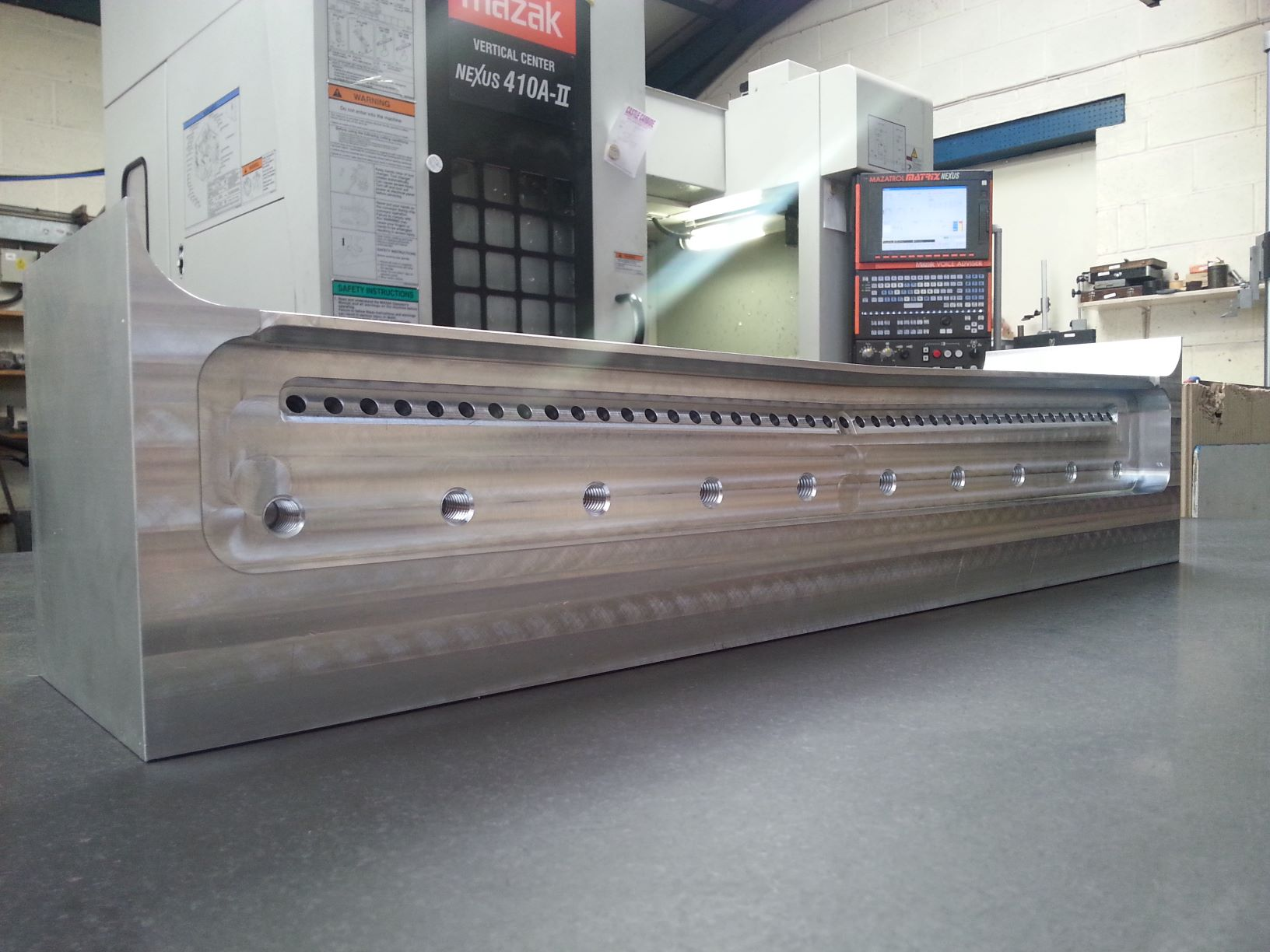 Aluminium Spray Bar