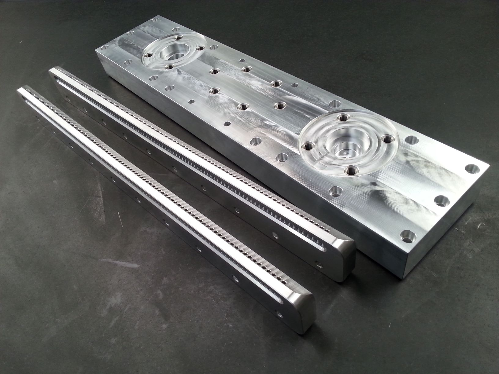 Aluminium Spray Bar Components