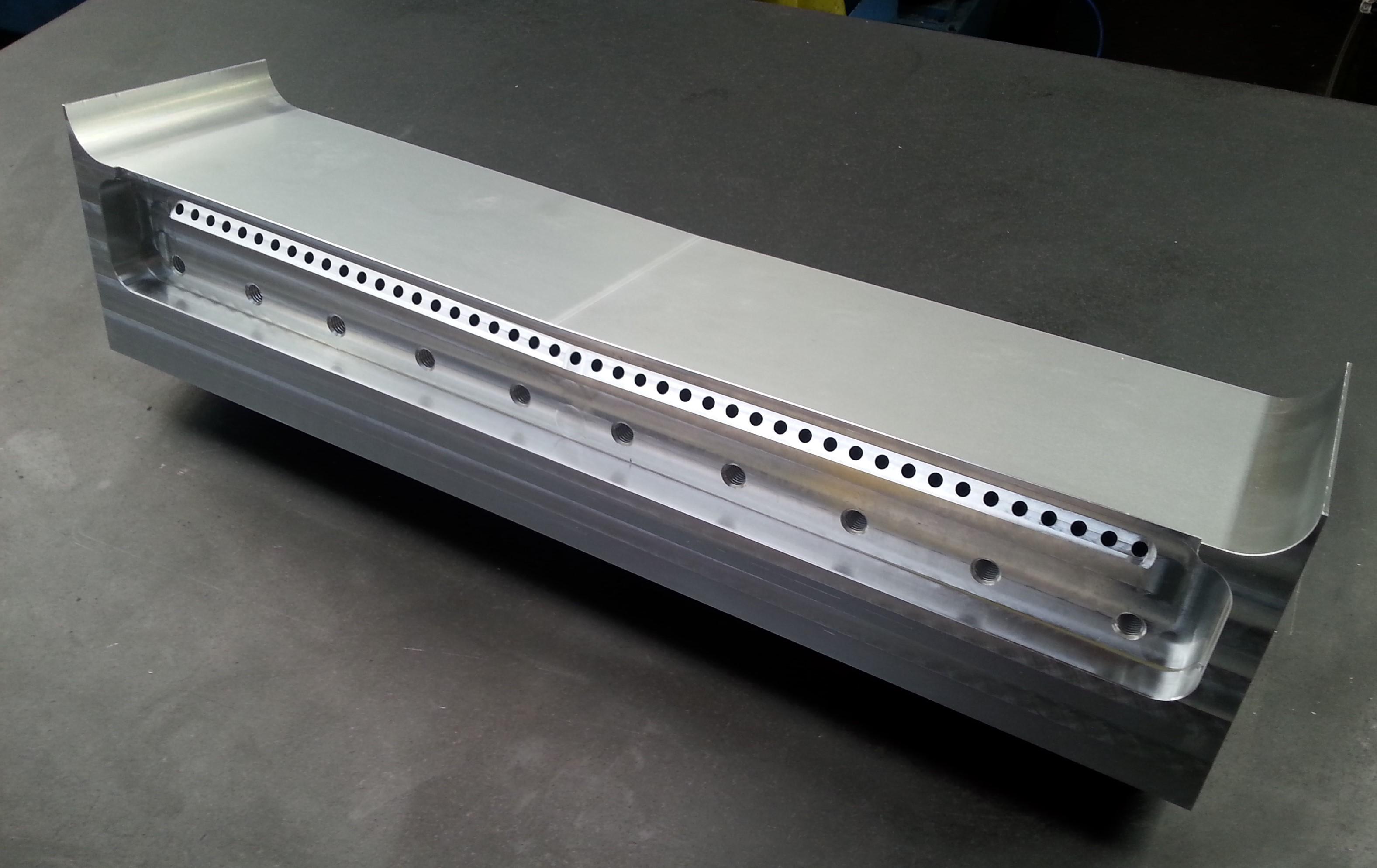 Aluminium Spray Bar L